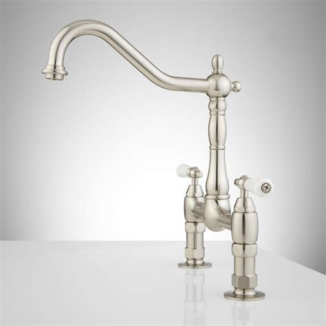nickel kitchen faucet the polished nickel kitchen faucet the homy design