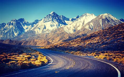 wallpaper for mac sierra sierra nevada road mountains wallpaper