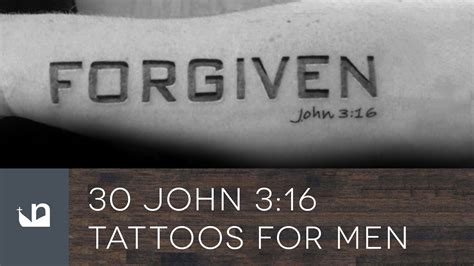 john 316 tattoo 30 3 16 tattoos for