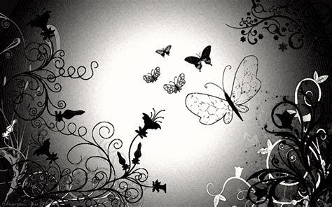 black and white butterfly wallpaper free black and white wallpaper wallpapersafari
