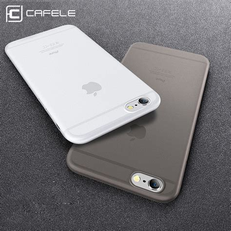 Casing Iphone 6 Plus 6s Plus Sand Scrub Ultra Thin Black Us17 original cafele phone for iphone 6 6s cases micro scrub 6 colors pp cover for apple iphone