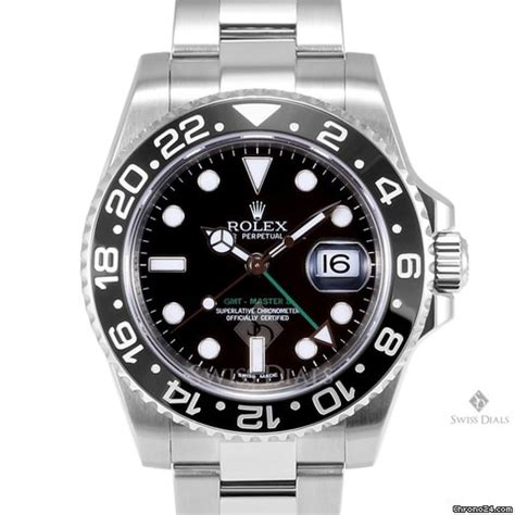 Rolex Gmt Master Ii Silver Lis Black rolex gmt master ii stainless steel black ceramic black for 7 300 for sale from a