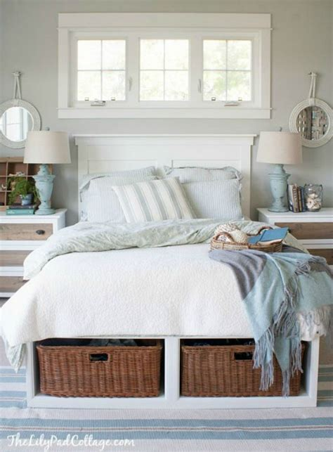 diy faux headboard how to organize the master bedroom clean and scentsible