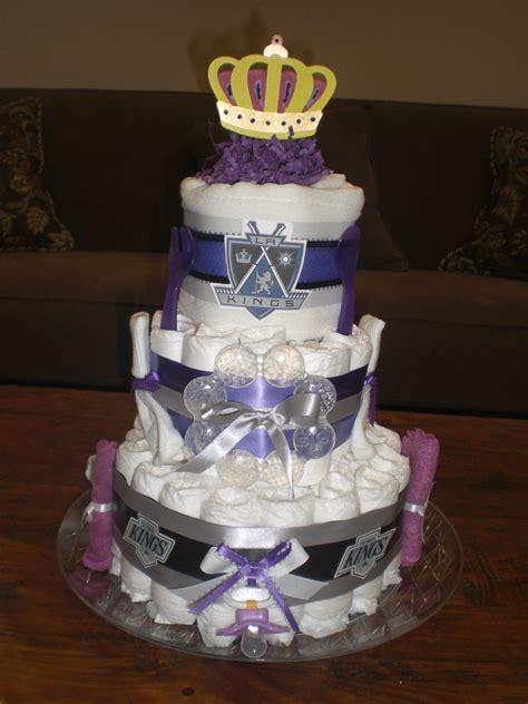 La Kings Gift Cards - la kings diaper cake baby shower gift hockey baby