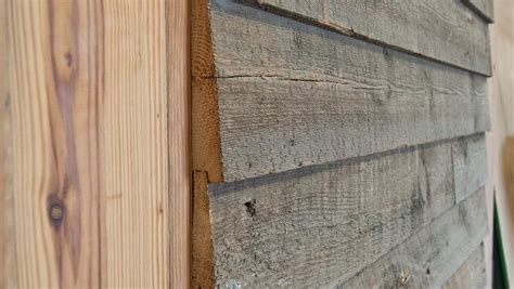 Sawn Shiplap Siding Ship Boards After The Few Boards Were Up My