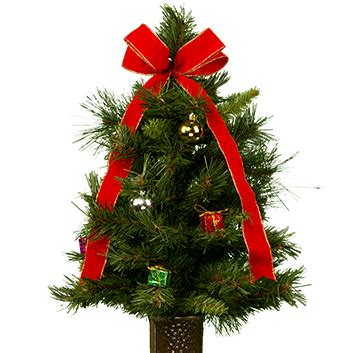 16 in solar powered christmas tree for cematery stay in the vase 174 tree tr1156