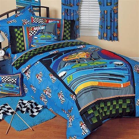 Nascar Crib Bedding Nascar Victory Bedding For Boys Bedskirt