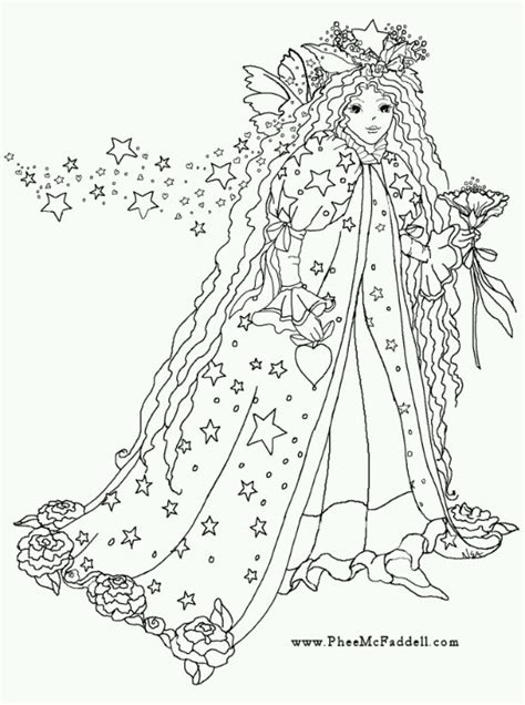 fariy coloring pages phee mcfaddell coloring pages