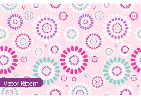 flower pattern design vector retro flower pattern vector design download free vector