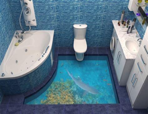 3d bathroom art awesome bathroom 3d floor designs