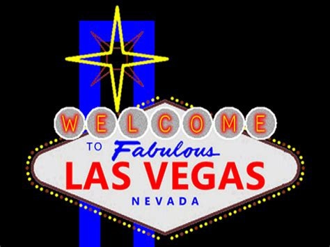 second marketplace welcome to las vegas animated sign