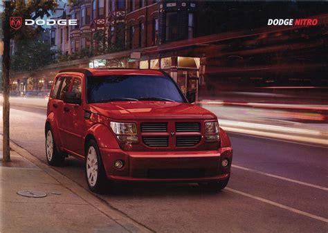 car service manuals pdf 2007 dodge nitro on board diagnostic system 2007 dodge nitro brochure