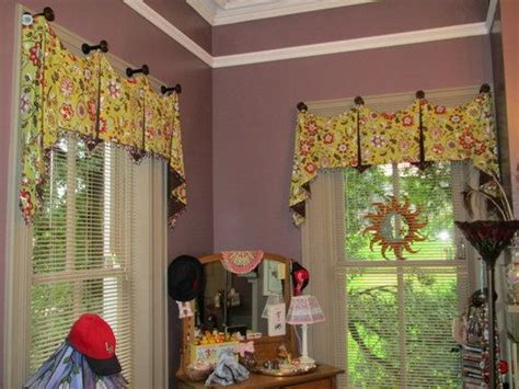 kitchen window valances ideas using hooks valance ideas