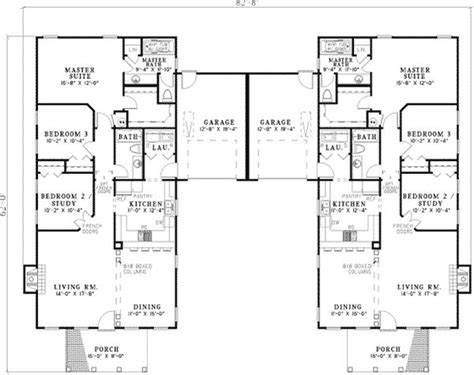 best 25 duplex house plans ideas on duplex