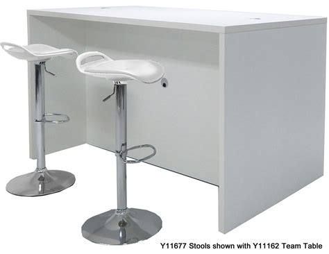 Standing Table Height by Team Collaborative Standing Height Meeting Table