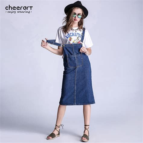 Line Skirt Overall Terusan Jumpsuit W315 popular denim jumpers buy cheap denim jumpers lots from china denim jumpers suppliers on