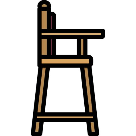 high chair free furniture and household icons