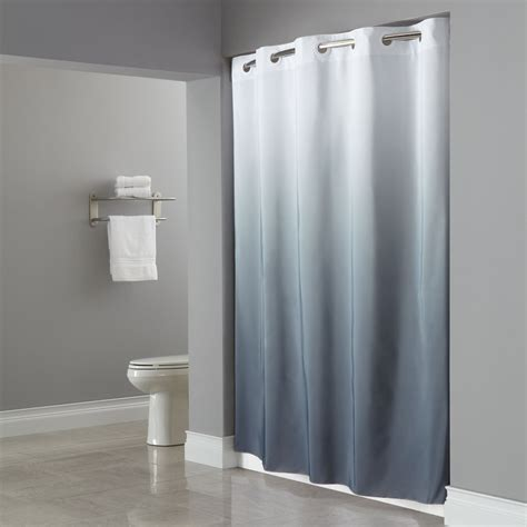 curtains bathroom hookless shower curtain elegant bathroom furniture
