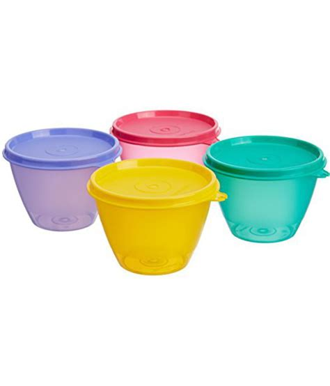 Tupperware Per Set tupperware bowled set set of 4 available at snapdeal
