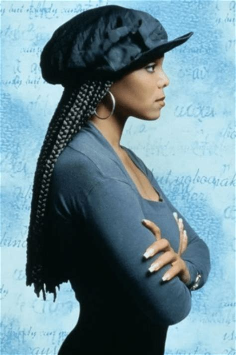 can you put poetic justice braids in a bun can you get poetic justice braids with short hair janet