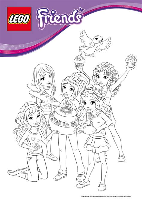 jeux de coloriage lego friends