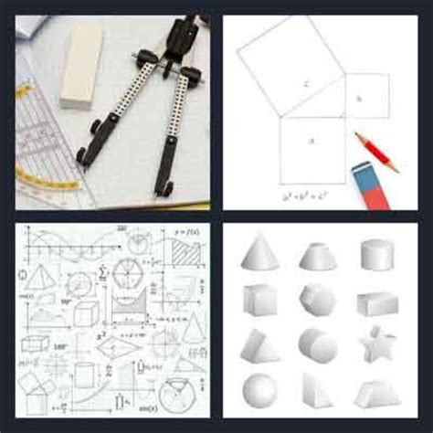 Drawing 4 Pics 1 Word by 4 Pics 1 Word Answer Geometry 4 Pics 1 Word Answers