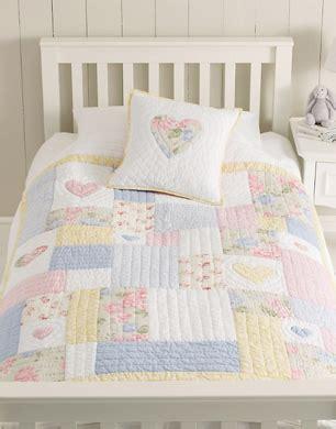 Emily Patchwork Quilt - children s bed linen stylenest