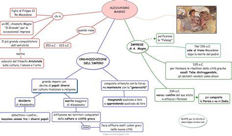 guerre persiane scuola primaria mappa concettuale alessandro magno materiale per scuola