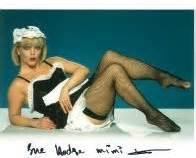 Sue hodge allo allo genuine signed autograph 2