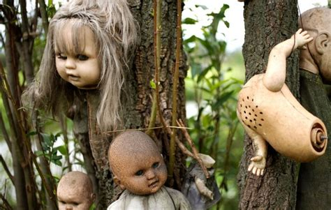 haunted doll forest in mexico isla de las mu 241 ecas mexico s terrifying island of haunted