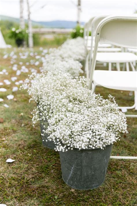 Wedding Aisle Buckets by 40 Ways To Use Buckets Tubs For Your Wedding Decor