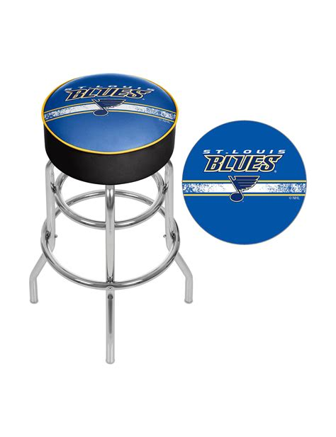 St Louis Blues Bar Stools by Nhl St Louis Blues Swivel Bar Stool Stage Stores