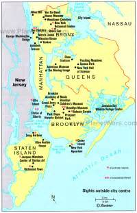 tourist map nyc 5 boroughs of new york city tour new york maps