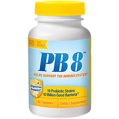 product image for pb8 immune system support 10 billion (60