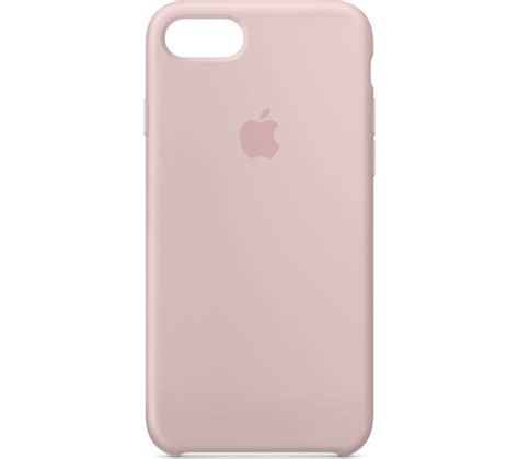 Sand Line For Iphone 6 apple mqgq2zm a iphone 8 7 silicone pink sand deals pc world