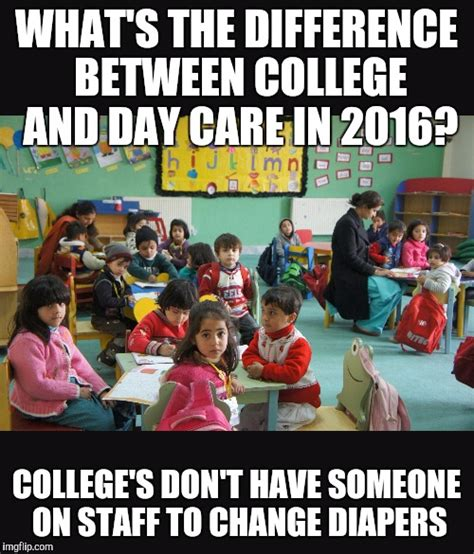 Childcare Meme - day care imgflip