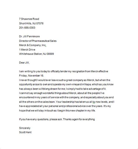 notice template notice letter 13 free sles exles format