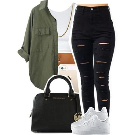 Sxb One Print Tank Top And Legging shoes army green jacket white top black black