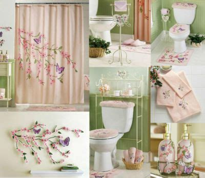 cherry blossom bathroom decor tet holiday pinterest