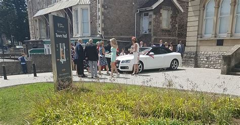 Wedding Car Yeovil by Shocked To See Wedding Car Getting Parking Ticket