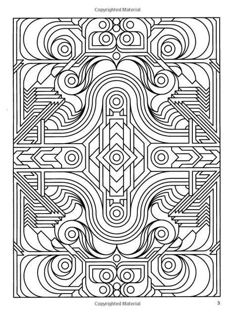 geometric coloring books deco tech geometric coloring book kleurplaten coloring