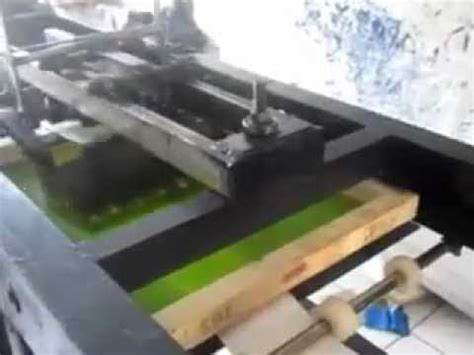 Mesin Sablon Plastik mesin sablon otomatis