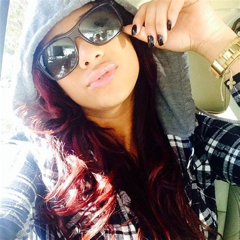 cyn santana burgundy hair 159 best erica cyn images on pinterest erica mena