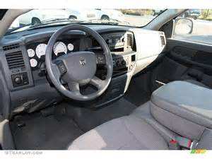 medium slate gray interior 2008 dodge ram 1500 st regular