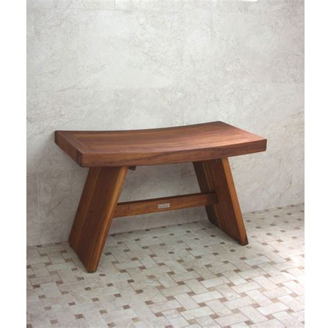 small teak bench small teak shower bench jen joes design making a