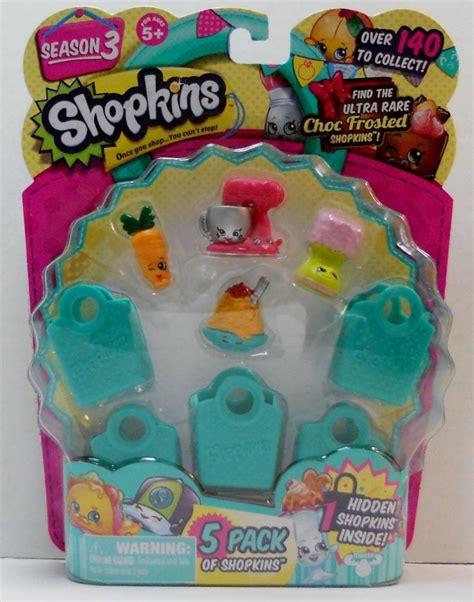Shopkins 1 Pack Kotak shopkins 5 pack season 3 netti spaghetti mixie maxie