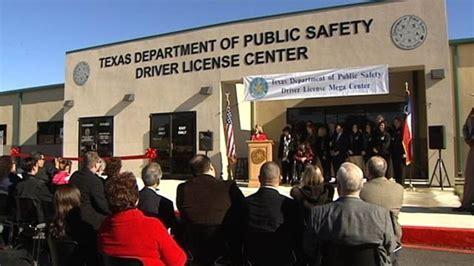 Dps Office San Antonio dps driver license mega center to open in san antonio area