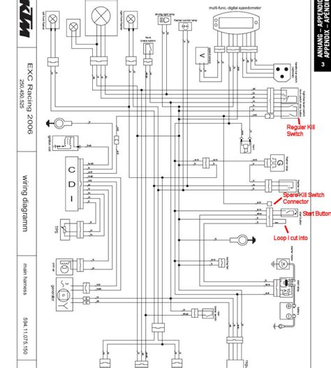 ktm wiring diagram horn ktm free wiring diagrams