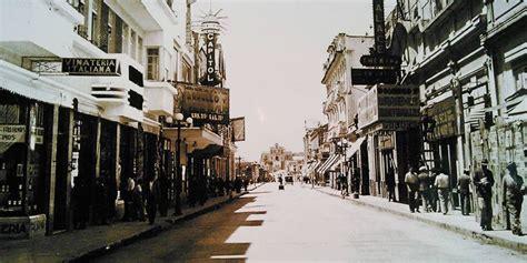 imagenes antiguas de guatemala paseo de la sexta avenida en la ciudad de guatemala