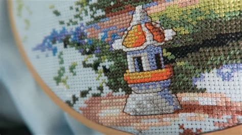 Cross Stitch Kit 80713 how to cross stitch with a kit how to get started